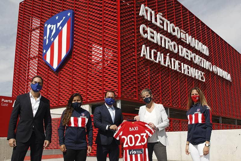 Presentacion patrocinio BAXI Atletico de Madrid femenino
