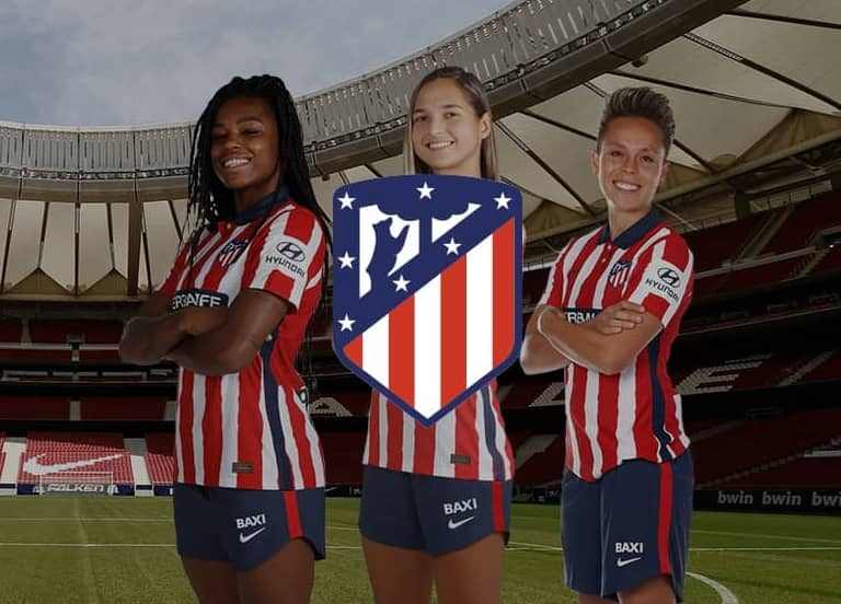 Baxi patrocinador oficial del Atlético de Madrid Femenino