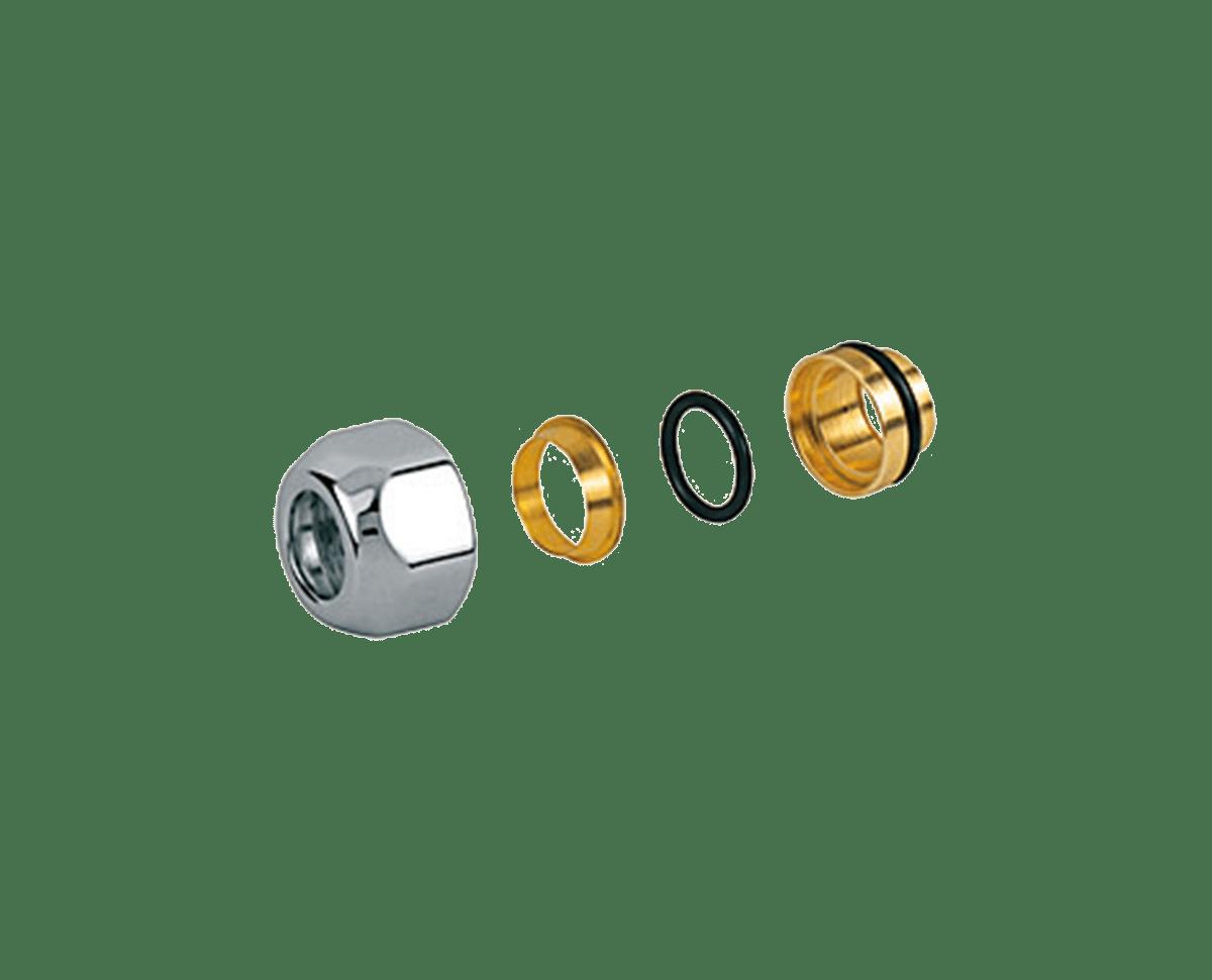 Enlaces de compresión y accesorios para grifería