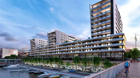 Proyecto Baxi edificio de 252 viviendas, Badalona