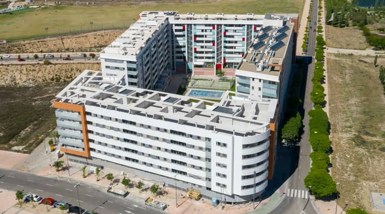 BAXI - Edificio de 66 viviendas arcosur