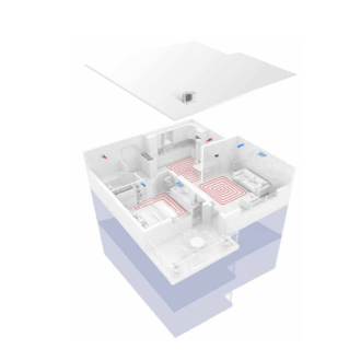 Sistema Integral con suelo Radiante y fancoils con 1 zona